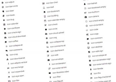 Font awesome is awesome